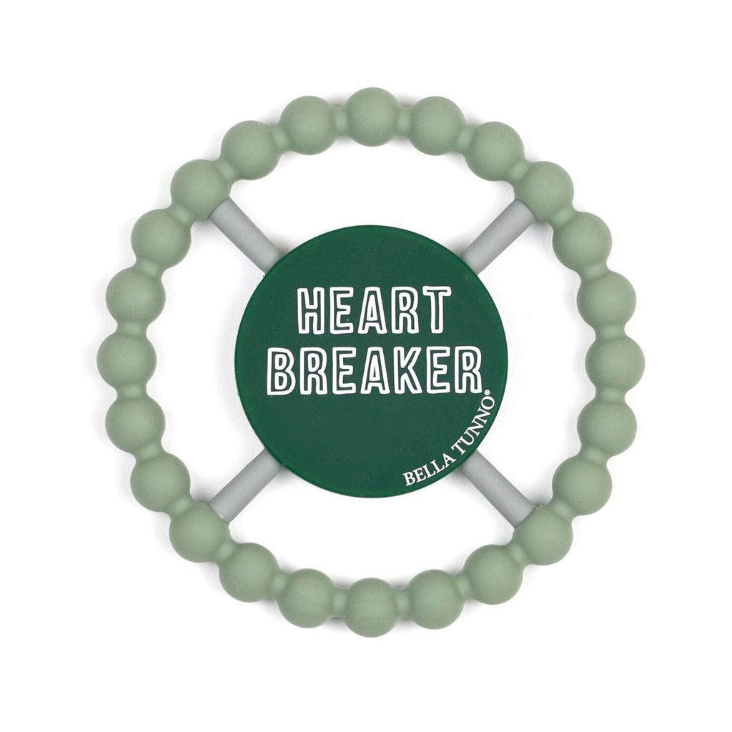 Bella Tunno Teether Heartbreaker, Green