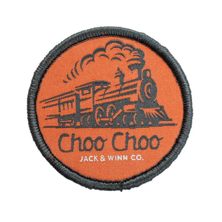 Jack & Winn Train Velcro Patch