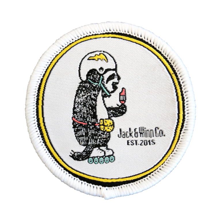 Jack & Winn Slow Your Roll Velcro Patch