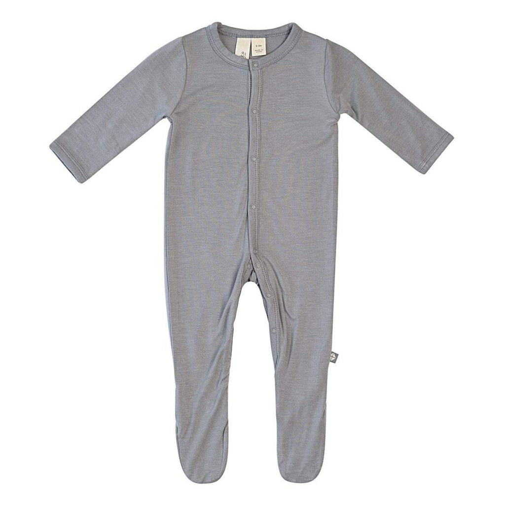 Kyte Baby Footie Graphite