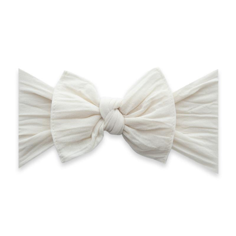 Baby Bling Solid Knot Headband Oatmeal