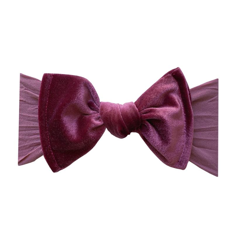 Baby Bling Velvet Knot Winterberry