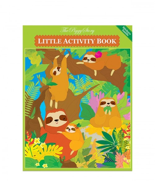 The Piggy Story Little Activity Book, Playful Sloths