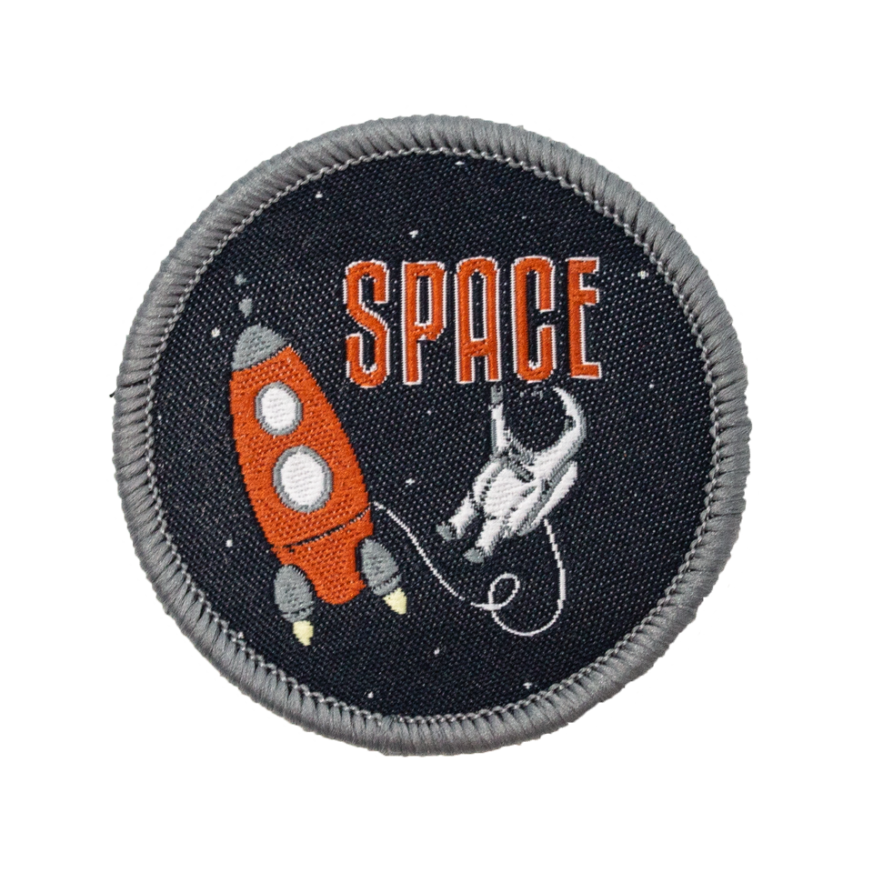 Jack & WInn Space Velcro Patch