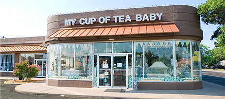 The store front of My Cup of Tea Baby