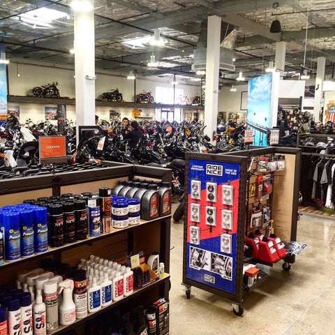 Huntington Beach Harley-Davidson Parts Department