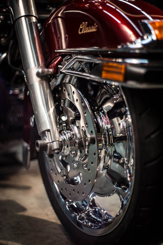 ultra electra chrome wheel spacers harley abs front wheel