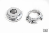 Street Glide Road Glide Chrome ABS Wheel Spacers Front rim