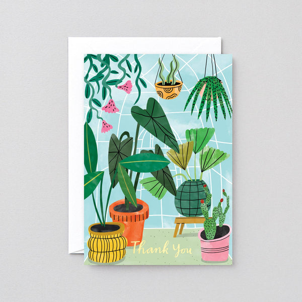 Wrap - 'Thank You Plants' Greetings Card - shoparo