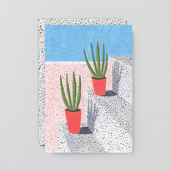 Wrap - 'Plant Study 3' Art Card - shoparo