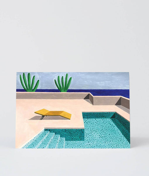 Wrap - 'Pool 1' Art Card - shoparo