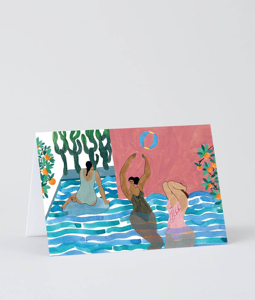 Wrap - 'Pool Ball' Art Card - shoparo