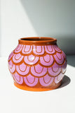Round Petalled Vessel - Purple - shoparo