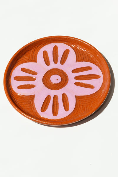 Terracotta Plate - Purple - shoparo