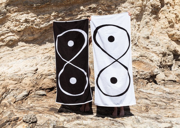 Infinite Boob Beach Towel