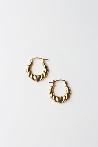 Puffy Heart Hoops