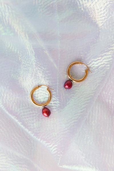 Pearl Charms for Hoop Earrings - shoparo