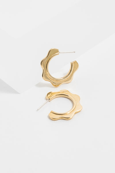 Wave Hoops (Wave Earrings)