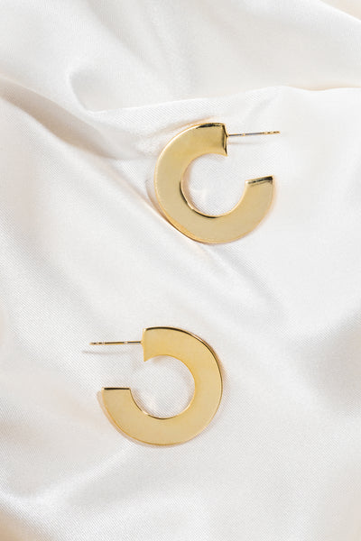 Circle Hoop Earrings - shoparo