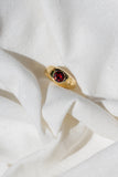Gypsy Ring - Garnet - shoparo