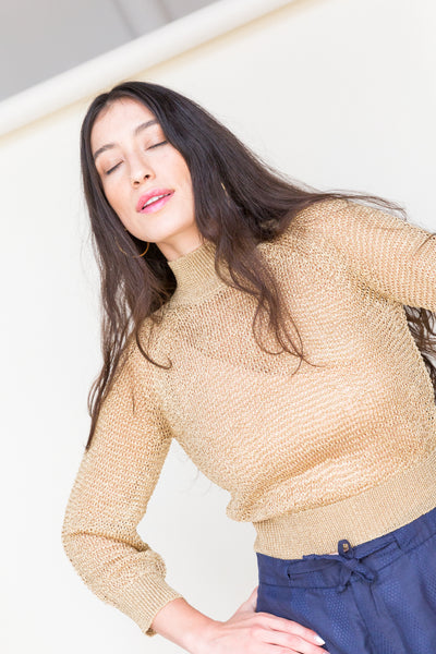 JONI Sweater in Gold