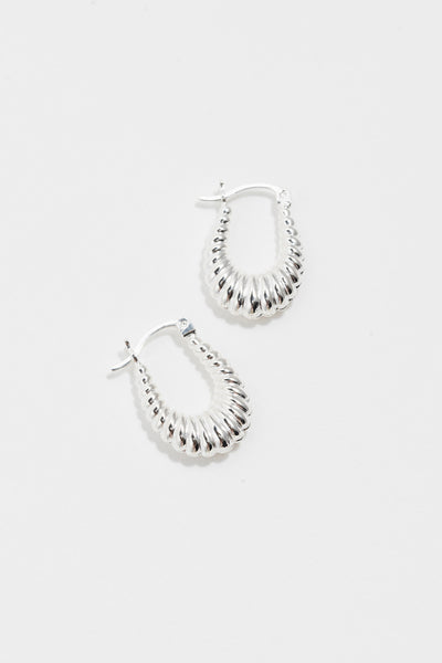 Ripple Puffy Hoops
