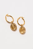 Jackpot Mary Earrings - Gold