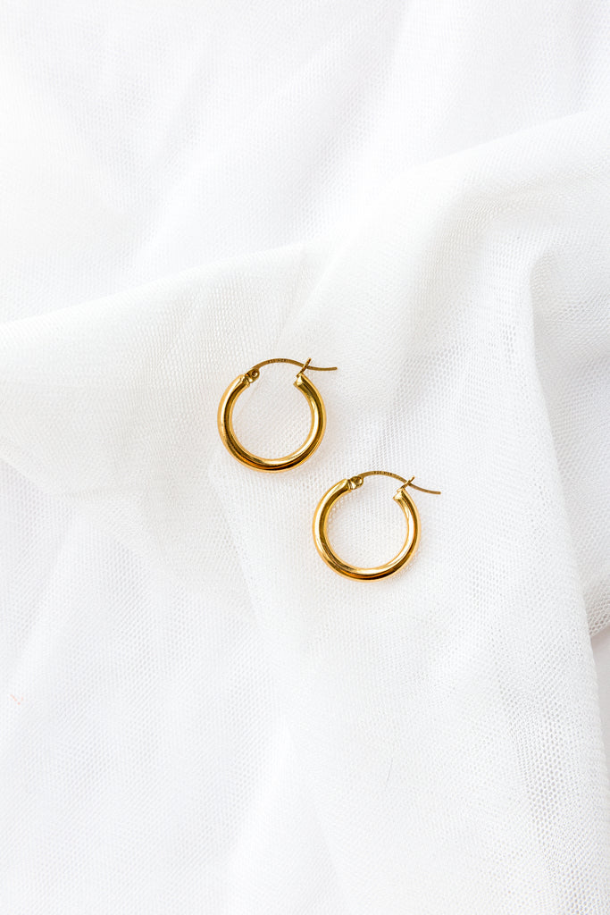 XSmall Hoop Earrings - shoparo