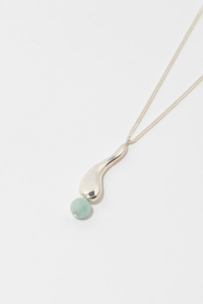 Jing Necklace in Silver