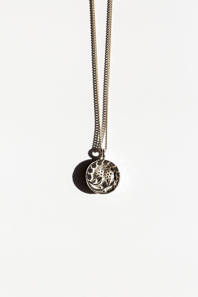 Flora Coin Necklace - shoparo