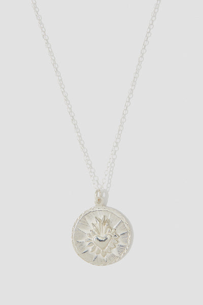Corazon Round Necklace - shoparo
