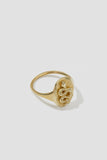 Serpiente Mini Signet Ring - shoparo