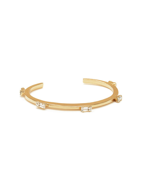 Five Baguettes Cuff - shoparo