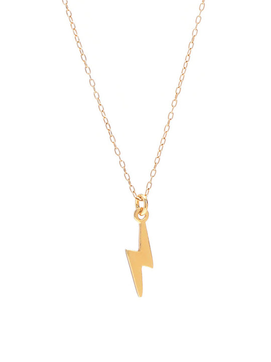 Lightning Bolt Necklace - shoparo