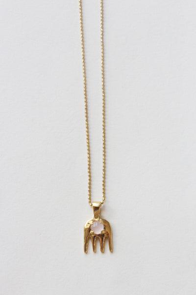 Rose Quartz Necklace - shoparo