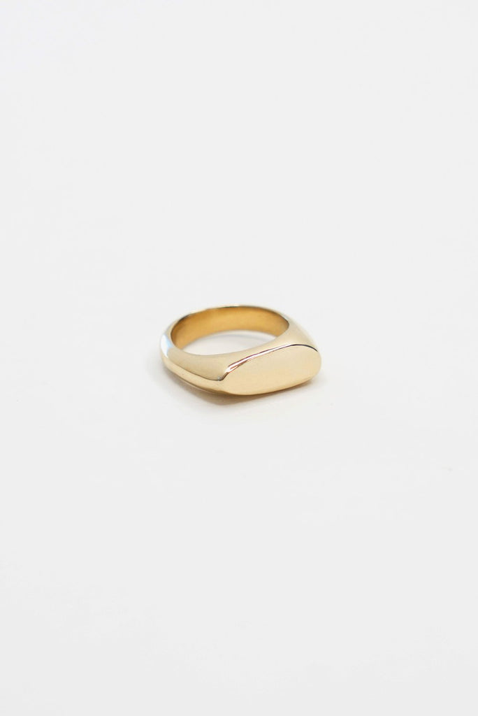 Asymmetrical Signet Ring