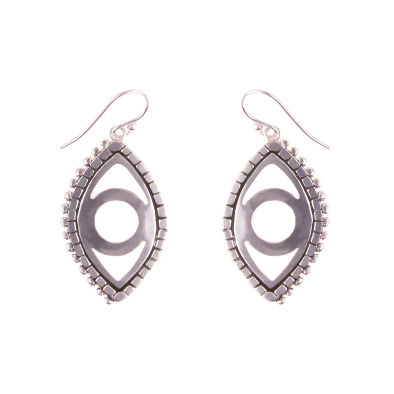 Krysos + Chandi Mati Evil Eye Earrings // Shop Aro