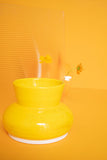 Yellow Wave Planter