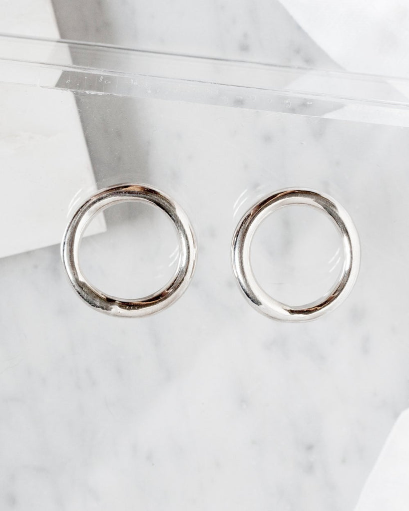 Circle Hoop Earrings