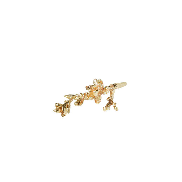 Magnolia Branch Earring