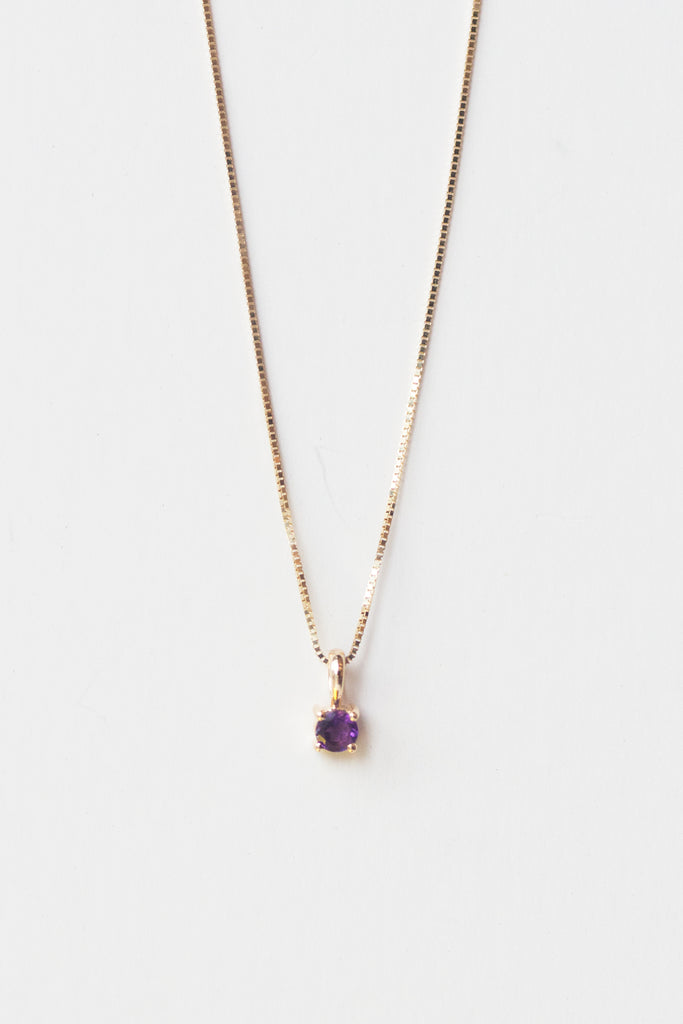 Element Necklace in Amethyst