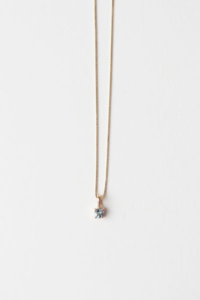 Element Necklace in Aquamarine - shoparo