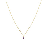 Element Necklace in Amethyst - shoparo
