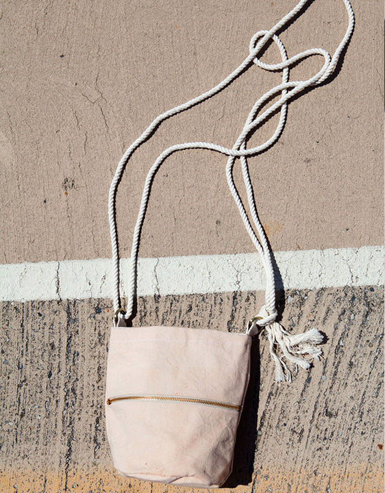 Lotfi Pink Mini Bucket Bag - shoparo