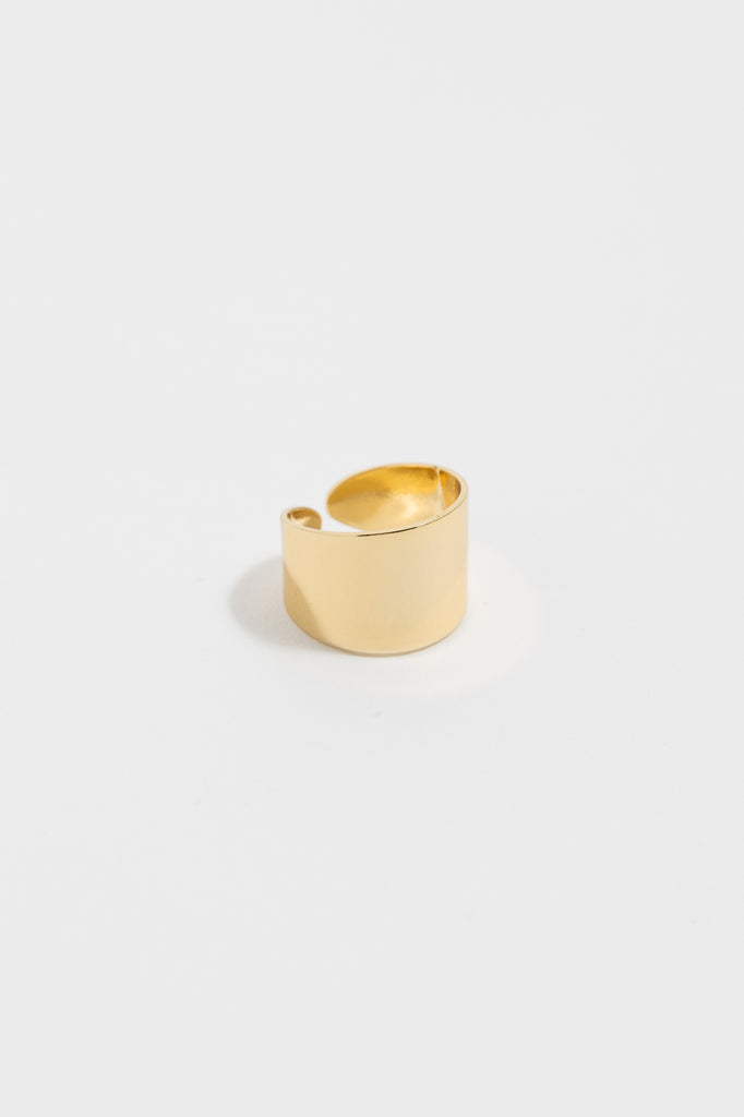 Wide Band Adjustable Ring
