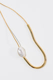 Chock a Block Pearl Necklace - shoparo