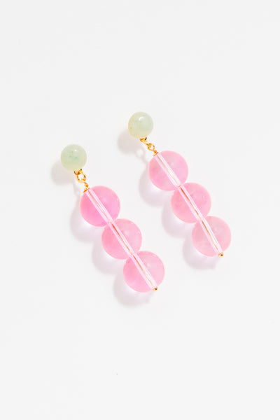 Pink Bubbles Earrings