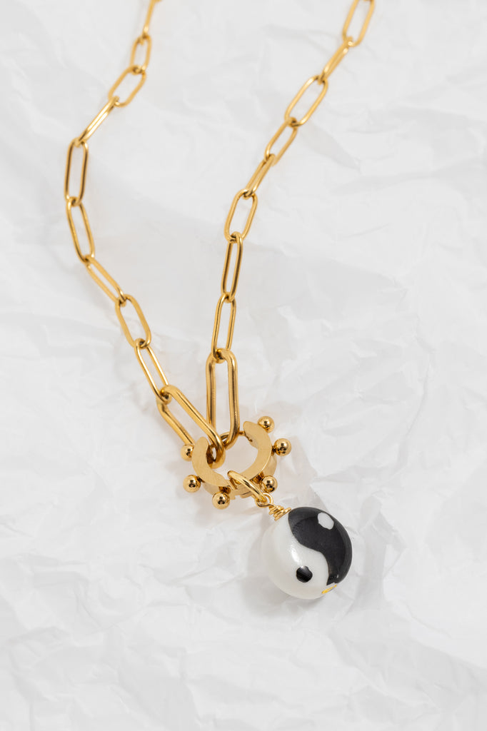 Yin to My Yang Necklace/Earring