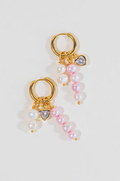 Bacini Pearl Earrings - shoparo