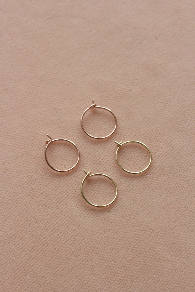 Classic Hoop Earrings - shoparo